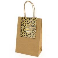 Contient : 1 x 6 Sacs Cadeaux Savane - Recyclable
