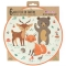 6 Assiettes Animaux de la Forêt - Recyclable images:#2