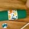 6 Ronds de serviettes Dinosaures - Recyclable images:#2