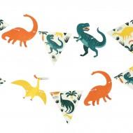 Petite Guirlande Dinosaures - Recyclable