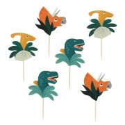 Kit Cupcakes Dinosaures - Recyclable