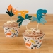 Kit Cupcakes Dinosaures - Recyclable. n°2