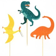 Cake Toppers Dinosaures - Recyclable
