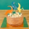 Cake Toppers Dinosaures - Recyclable images:#1