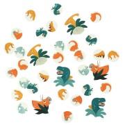 Confettis Dinosaures - Recyclable