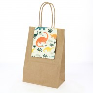 6 Sacs Cadeaux Dinosaures - Recyclable
