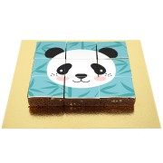 Brownies Puzzle Panda