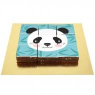 Brownies Puzzle Panda