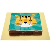 Brownies Puzzle Tigre