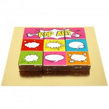 Brownies Puzzle Pop Art