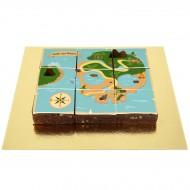Brownies Puzzle Carte aux Trésors