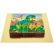Brownies Puzzle Dino T-Rex