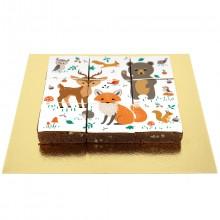 Brownies Puzzle Animaux de la Forêt