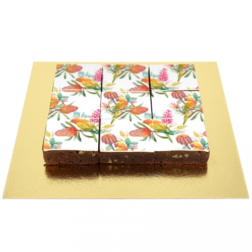 Brownies Puzzle Perroquet