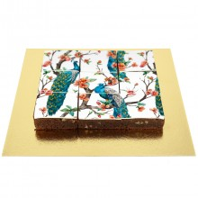 Brownies Puzzle Paon