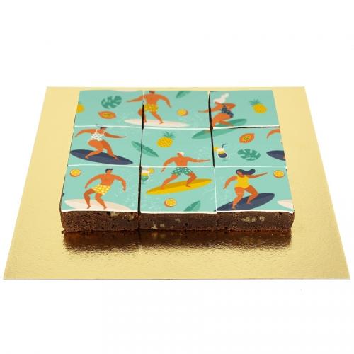 Brownies Puzzle Surf