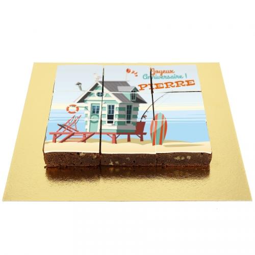 Brownies Puzzle Bord de Mer - Personnalisable