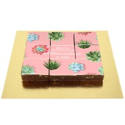 Brownies Puzzle Cactus - Personnalisable