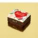 Brownies Fleurs Coeur rouge - Personnalisable. n°2