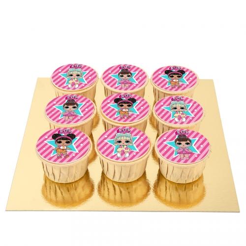 9 Cupcakes Lol Surprise