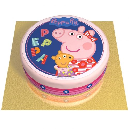 Gâteau Peppa Pig - Ø 20 cm
