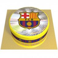 Gâteau FC Barcelone - Ø 20 cm