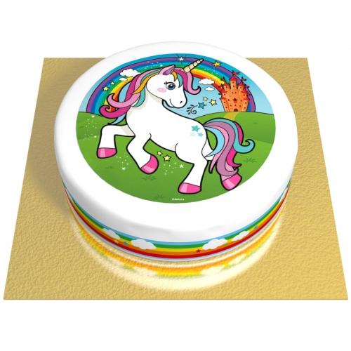 Gâteau Licorne Magique - Ø 20 cm