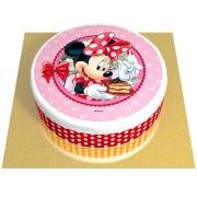Gâteau Minnie - Ø 20 cm Chocolat