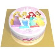 Gâteau Princesses Disney - Ø 20 cm Chocolat