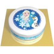 Gâteau Elsa et Olaf - Ø 20 cm Chocolat