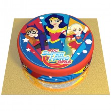 Gâteau Super Hero Girls - Ø 20 cm