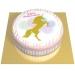 Gâteau Licorne Or - Ø 20 cm. n°1