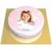 Gâteau Licorne Etoile Personnalisable - Ø 20 cm. n°1