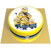 Gâteau Minions - Ø 20 cm Fraise