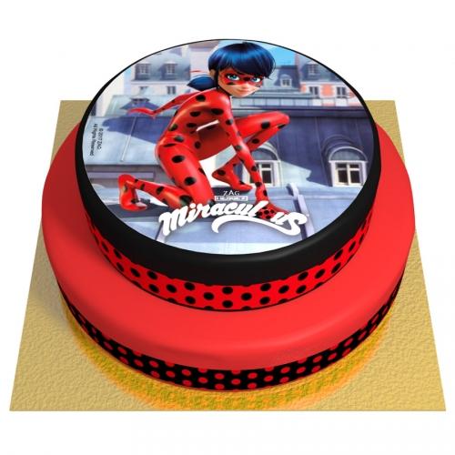 Gâteau Ladybug - 2 étages
