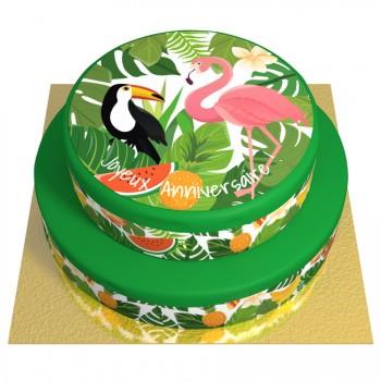 Gâteau Tropical - 2 étages