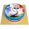 Gâteau Allez les Bleus Personnalisable - Ø 20 cm images:#0