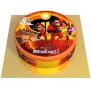 Gâteau Indestructibles - Ø 20 cm Chocolat