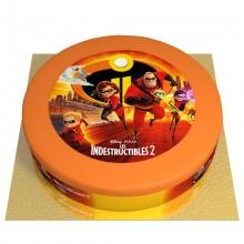 Gâteau Indestructibles - Ø 26 cm