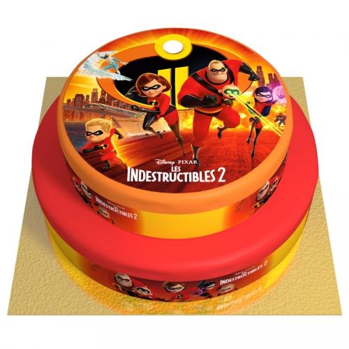 Gâteau Indestructibles - 2 étages