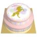 Gâteau Licorne Or - 2 étages. n°1