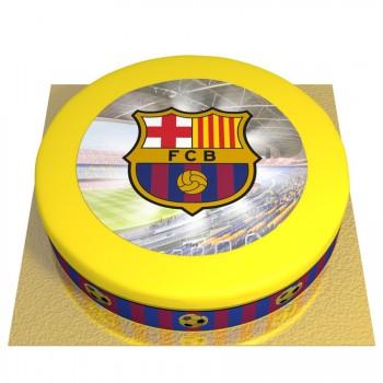 Gâteau FC Barcelone - Ø 26 cm