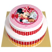 Gâteau Minnie - 2 étages Chocolat