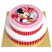 Gâteau Minnie - 2 étages