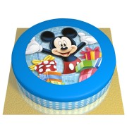 Gâteau Happy Mickey - Ø 26 cm Chocolat