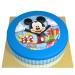 Gâteau Happy Mickey - Ø 26 cm. n°1