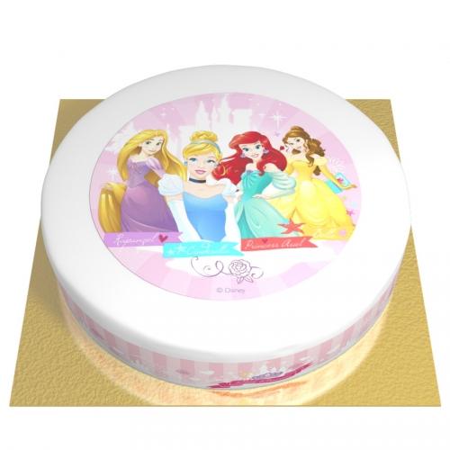 Gâteau Princesses Disney - Ø 26 cm