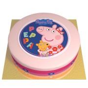 Gâteau Peppa Pig - Ø 26 cm Fraise