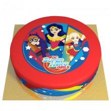Gâteau Super Hero Girls - Ø 26 cm
