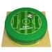 Gâteau Terrain de Football - Ø 26 cm. n°1